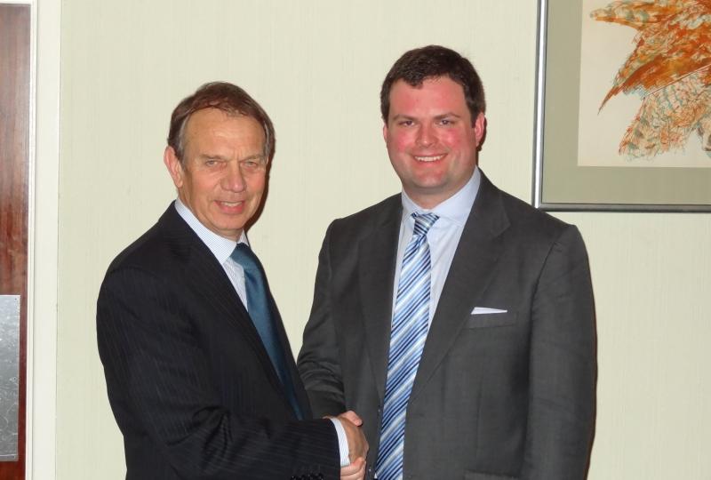 Association Chairman congratulates Kevin Foster